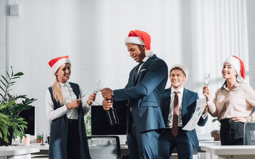 Setting the right tone for this year's festive office party